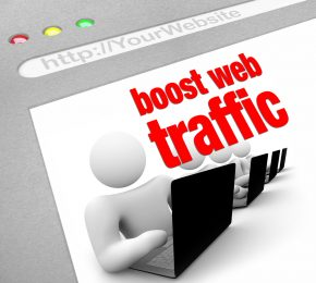 Boost website traffic.