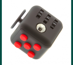 Goodbye Stress Balls, Hello Fidget Cube