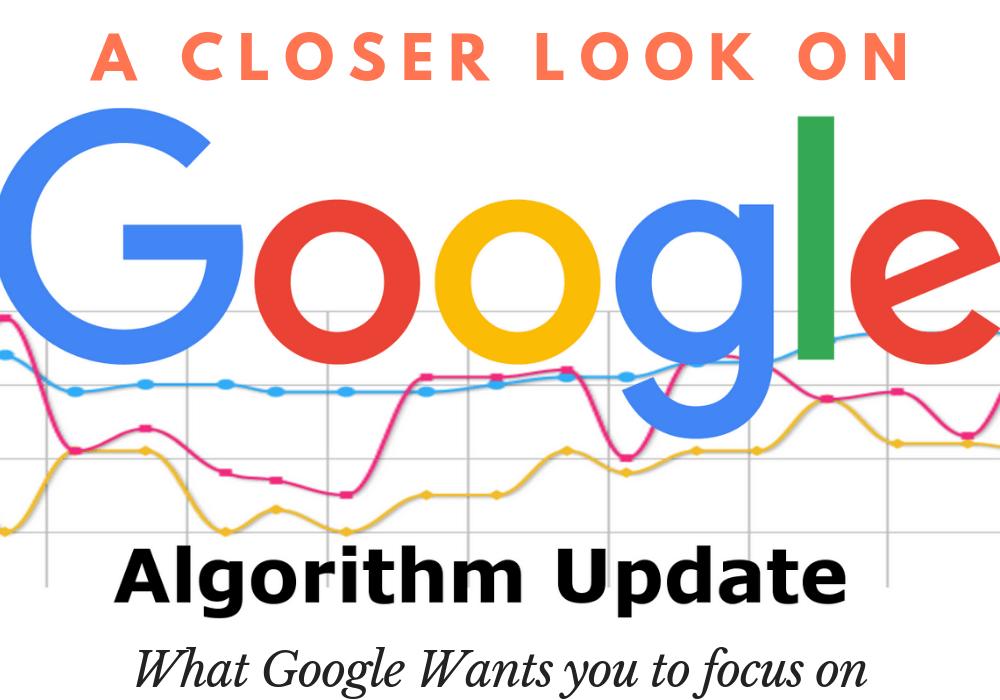 Google Algorithms updates
