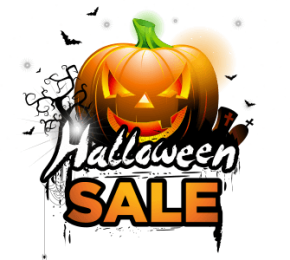 Halloween Sale is opening